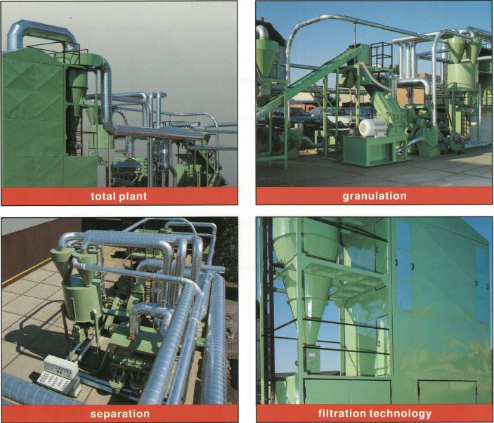 RETO 1500 - Industrial Cable Recycling Plant Wire Chopping Line Sold By Copper Recovery