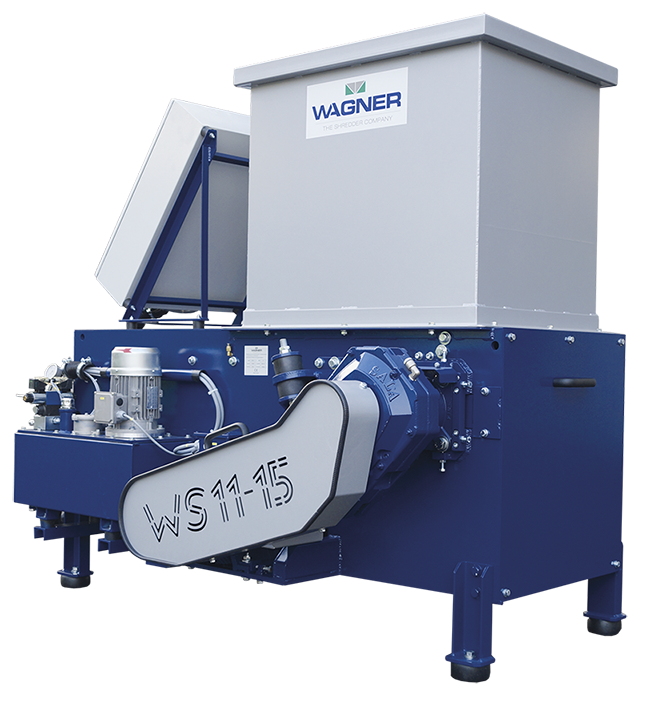 Wagner Shredder WS11-15 Single Shaft Universal Small Shredder Sold By Copper Recovery