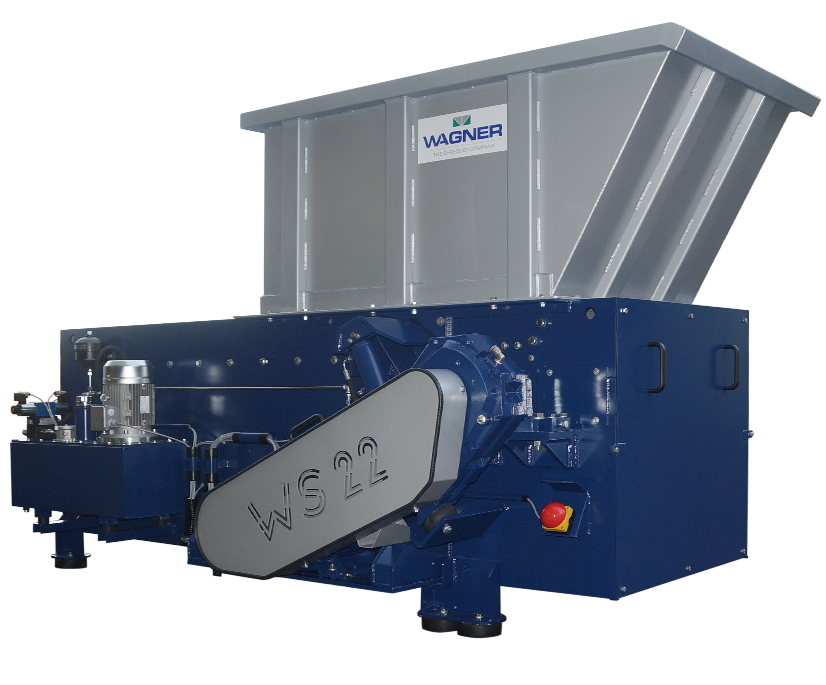 Wagner Shredder WS22 Single Shaft Universal Shredder Sold By Copper Recovery